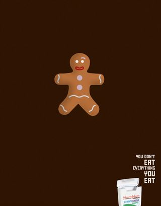 J&J you don't eat everything you eat gingerbread