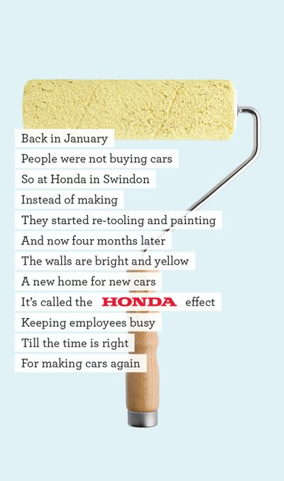 Honda swindon paint