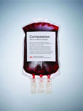 Red cross compassion