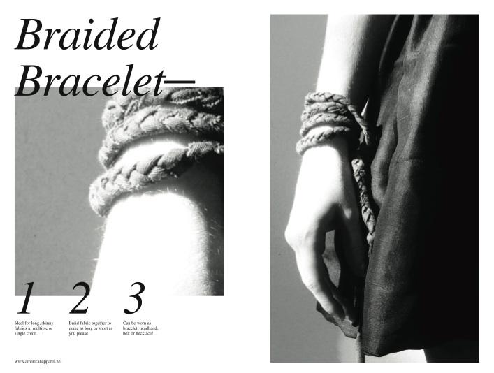 American Apparel Scraps Bracelet