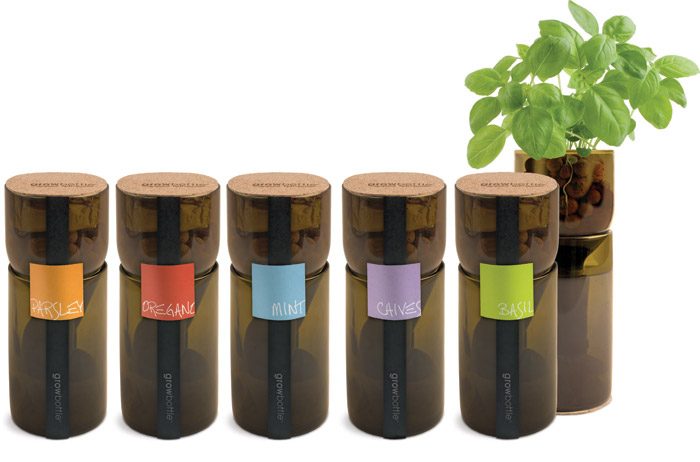 Grow Bottle Potting Shed Creations